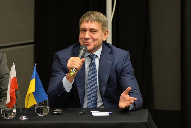 Minister energetyki i przemysłu węglowego Ukrainy Ihor Nasałyk