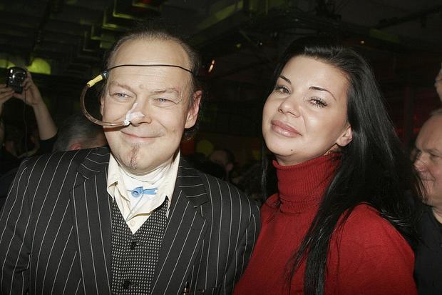 Jacek Skubikowski z Edytą Górniak