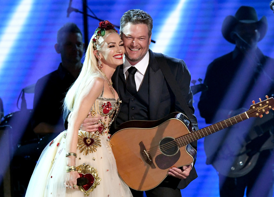 Grammy 2020 / Gwen Stefani i Blake Shelton / Jeff Kravitz / GettyImages