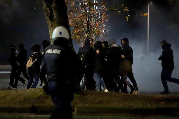 Solun protest EPA SOTIRIS BARBAROUSIS