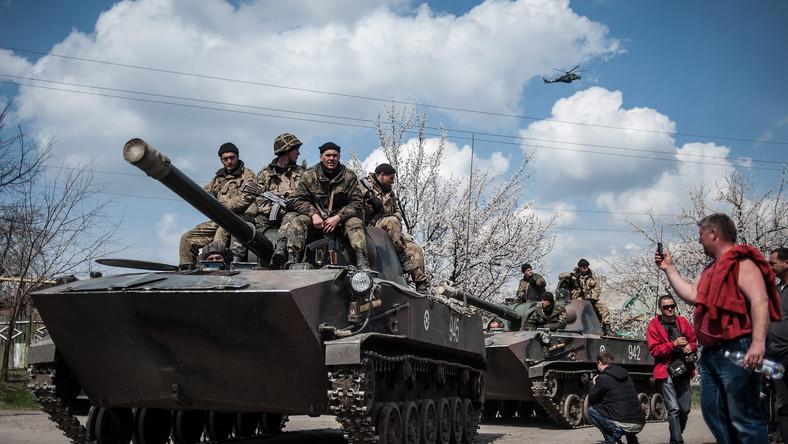 Zdobyty ukraiński sprzęt