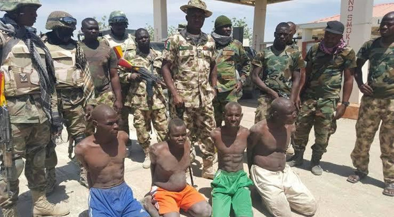 8 Boko Haram fighters surrender as troops intensify onslaught in Borno