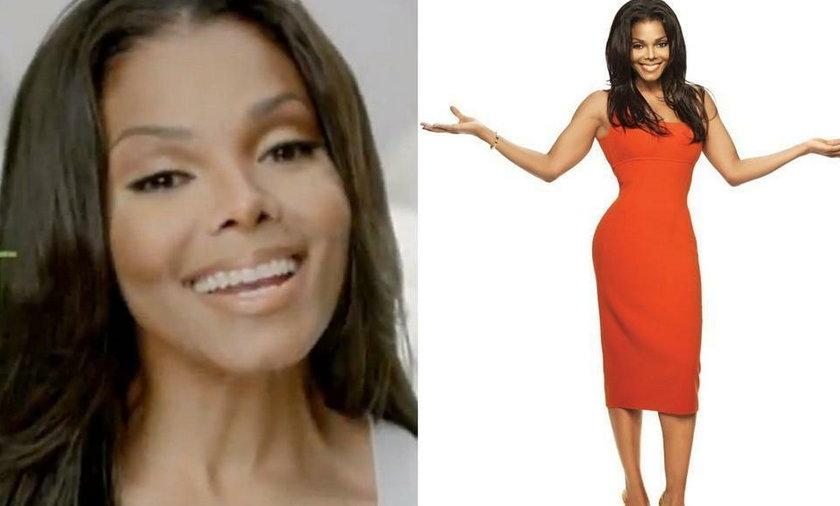 Janet Jackson na diecie - Janet Jackson schudła