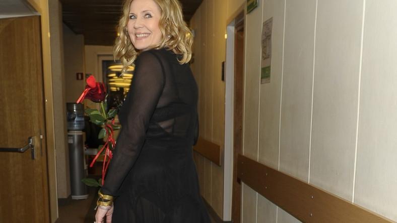 W poniedziałkowy wieczór gwiazda dała koncert promujący jej nową płytę...