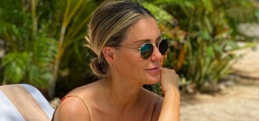 Małgorzata Rozenek pokazała odważne zdjęcie topless. Jednak to coś innego zwróciło uwagę fanów