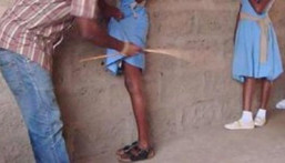 Student caned (File photo)