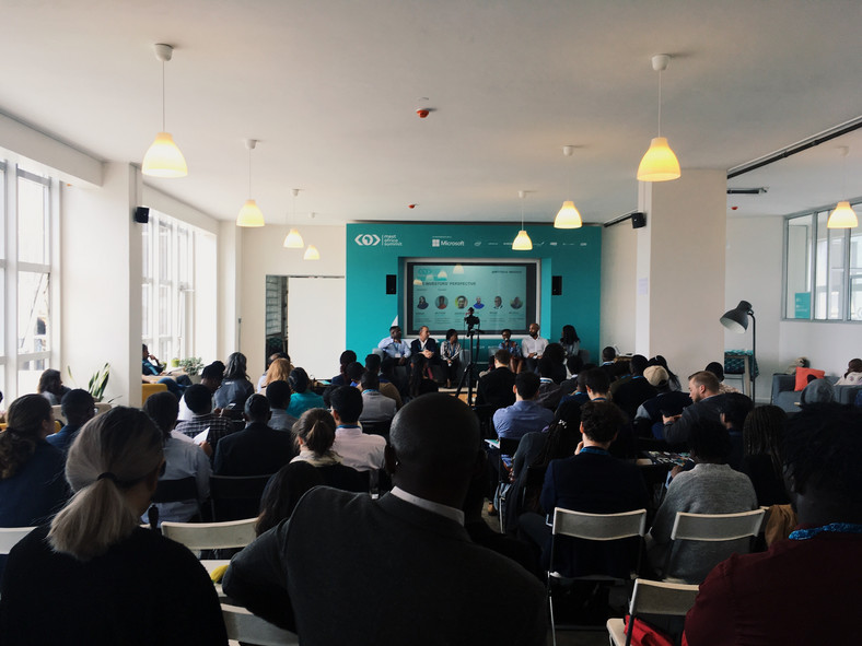 Delegates follow keenly proceedings the fourth MEST Africa Summit, in partnership with Microsoft.