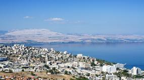 Poziom wody w Jeziorze Galilejskim jest najniższy od stu lat