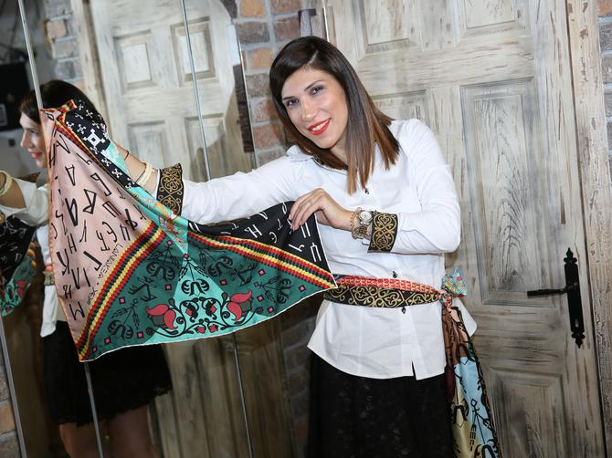 Kreatorka Jelena Bukvić Atanasković: Ornamenti iz naše kulturne baštine kao inspiracija