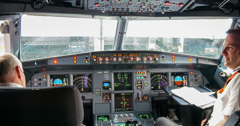 Tak wygląda kokpit Airbusa A319