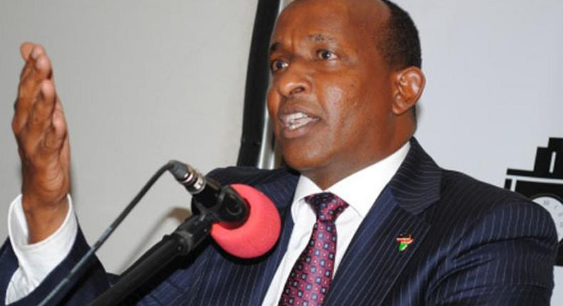 National Assembly Majority Leader Aden Duale