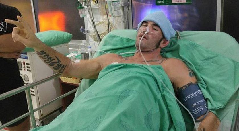 Tajemnicza choroba zaatakowała kick-boxera Chrisa Trammella. Jego nerki i płuca krwawią