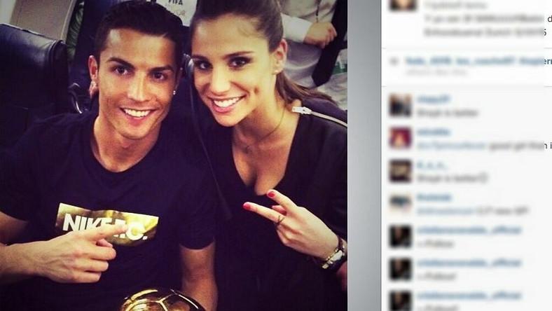 Nową partnerką gwiazdora Realu Madryt jest 26- letnia Lucia Villalon.