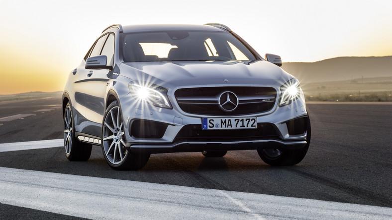 Mercedesy przebojem wśród kierowców