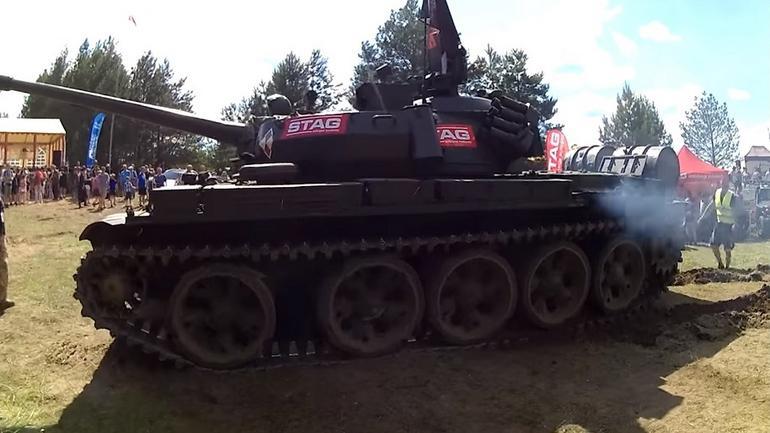 Pierwszy czołg na LPG