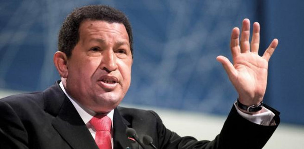 Hugo Chavez, prezydent Wenezueli chce byc Fidelem Castro XXI wieku.