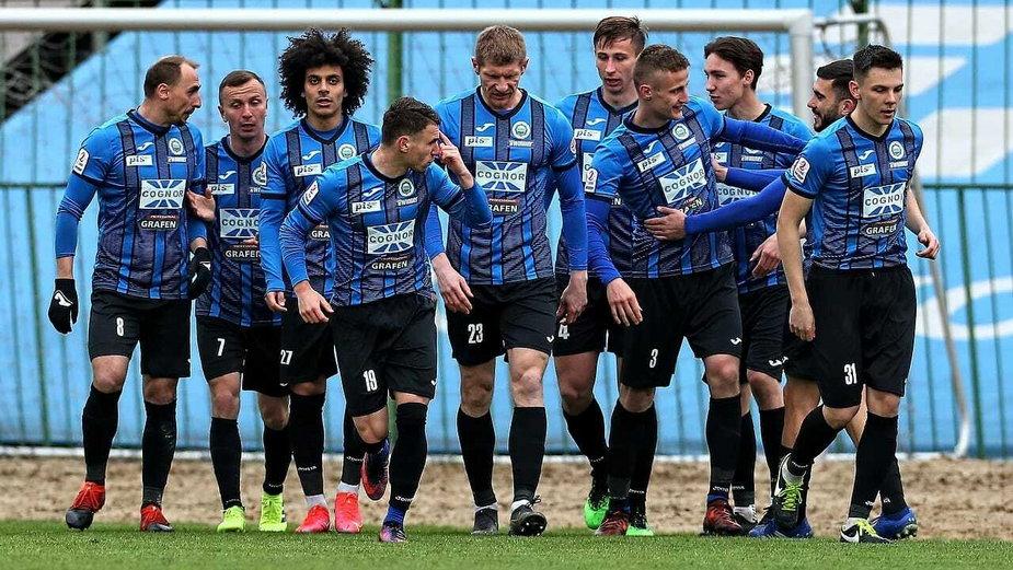 Hutnik Kraków vs Błękitni Stargard (fot. Paweł Jerzmanowski, Hutnik)