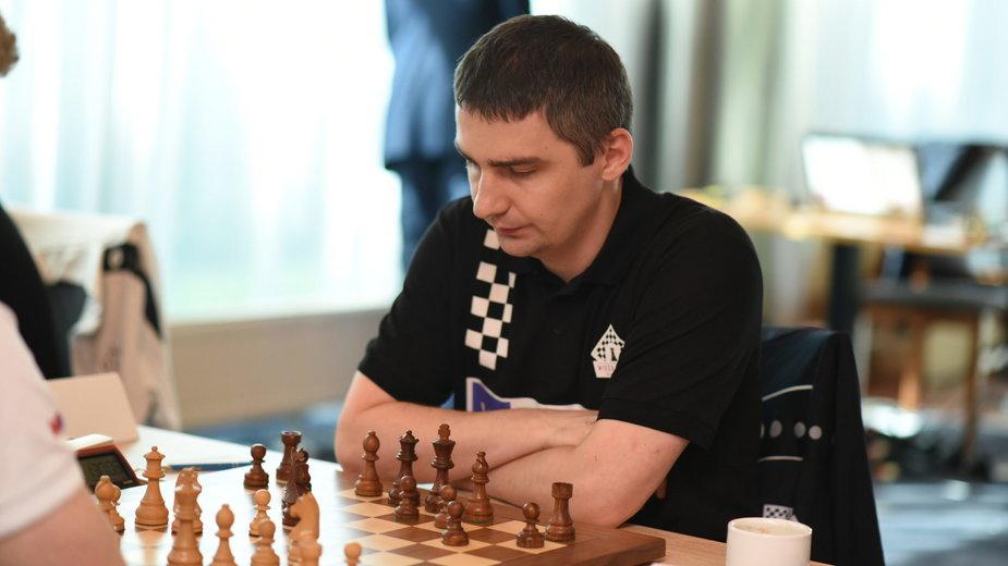Marcin Dziuba, trener kobiecej kadry w szachach