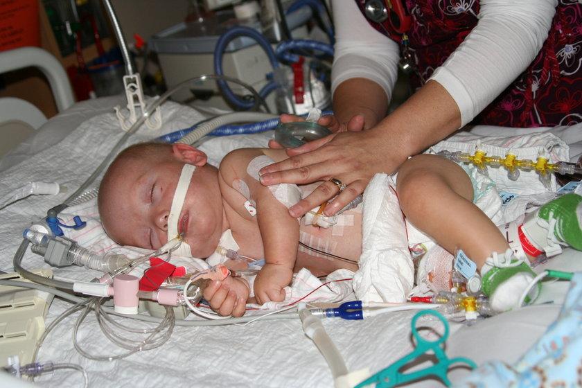 Emmet Rauch urodził się w 28. tygodniu ciąży