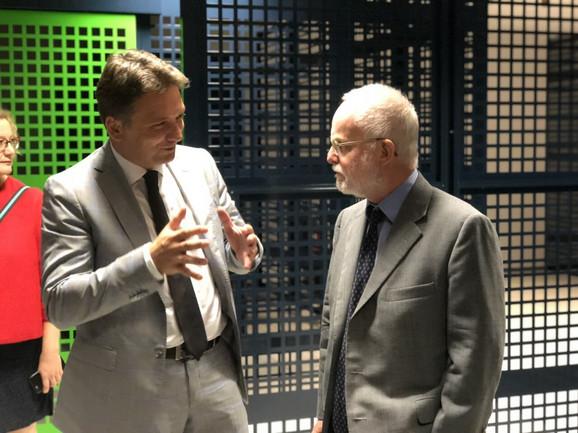 Mihailo Jovanović i Denis Kif u Data Centru