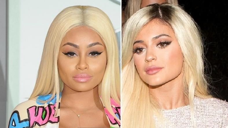 Blac Chyna and Kylie Jenner