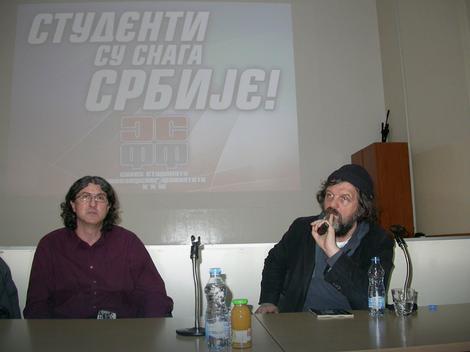 Čuveni reditelj održao predavanje u Nišu