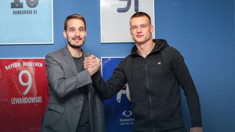 Piotr Rutkowski i Ołeksij Chobłenko