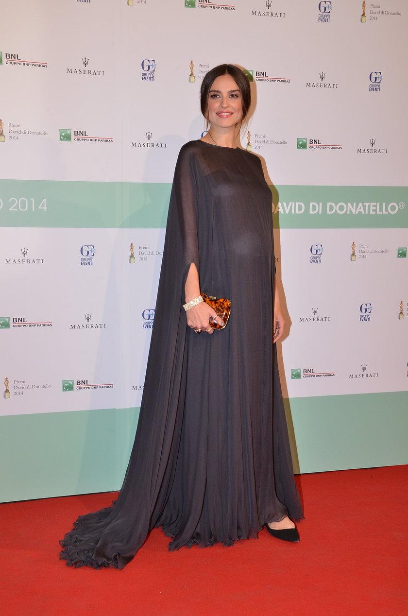Kasia Smutniak na gali Donatello Awards Ceremony