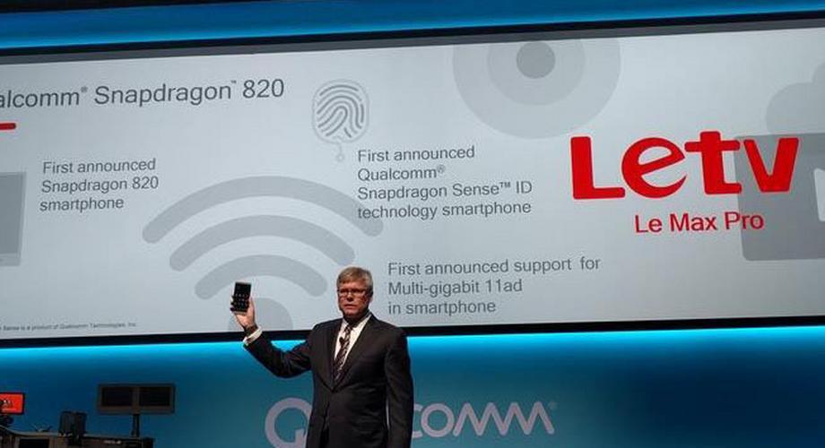 CES: Letv zeigt mit Le Max erstes Snapdragon-820-Smartphone