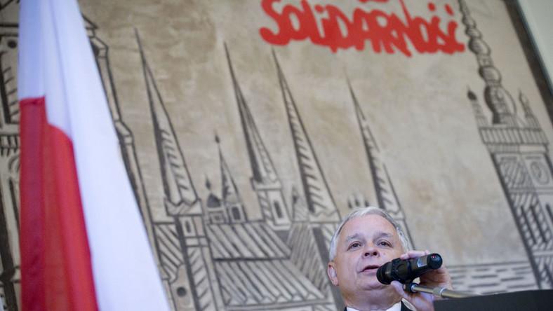 """""""Solidarność"""" ma nowego idola. To Kaczyński"""