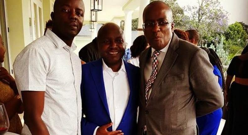 Raila Junior, Tony Gachoka and Polycarp Igathe. Raila Junior lands new role days after father's appointment
