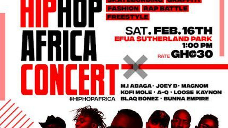 Hip-hop Africa to launch with maiden concert