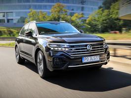 Volkswagen Touareg V8 – to nie jest pojazd dla ludu