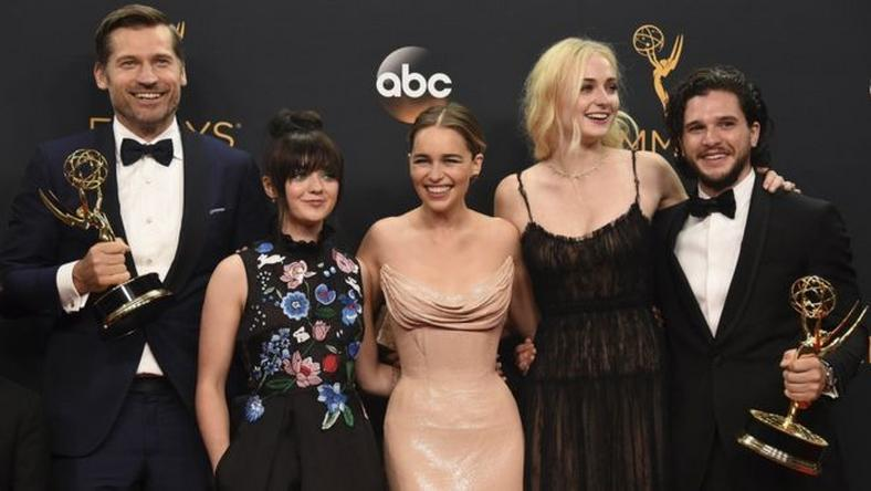 "Cast of ""Game of Thrones"" at 2016 Emmys"