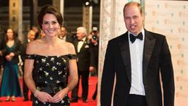 Książę William i księżna Kate z dziećmi na kartce bożonarodzeniowej