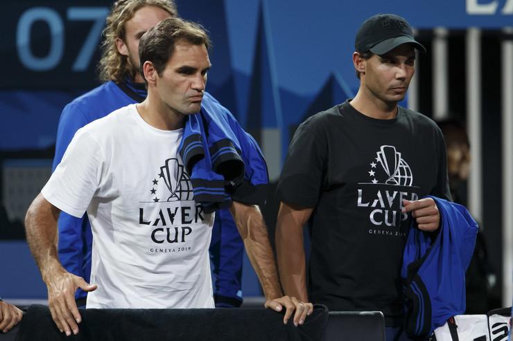 Rodžer federer i Rafael Nadal