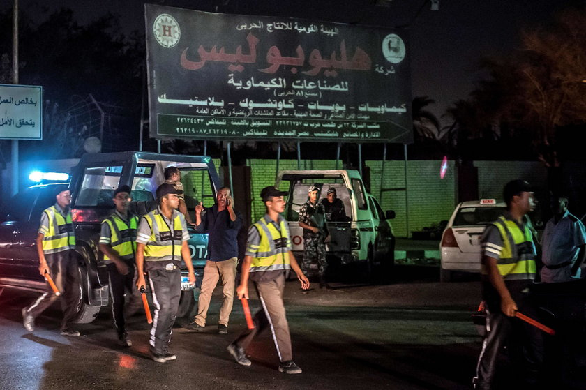 Niebezpieczna eksplozja w Kairze