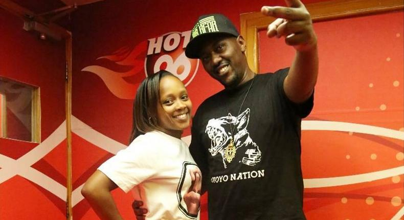 I woke up on a street in Eldoret with only a cigarette in my pocket – Hot 96 presenter reveals