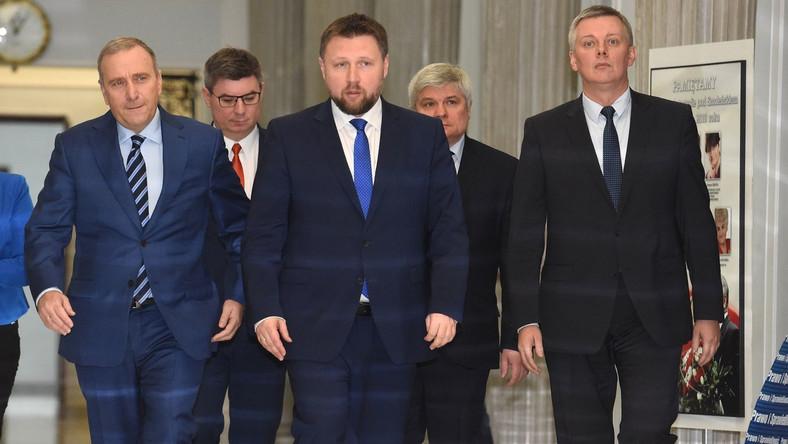 Grzegorz Schetyna, Marcin Kierwiński i Tomasz Siemoniak
