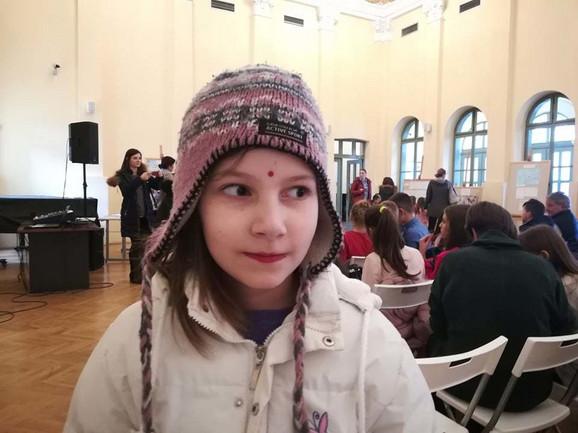 Devojčica iz Novog Sada OSVOJILA SRBIJU sastavom o Semini