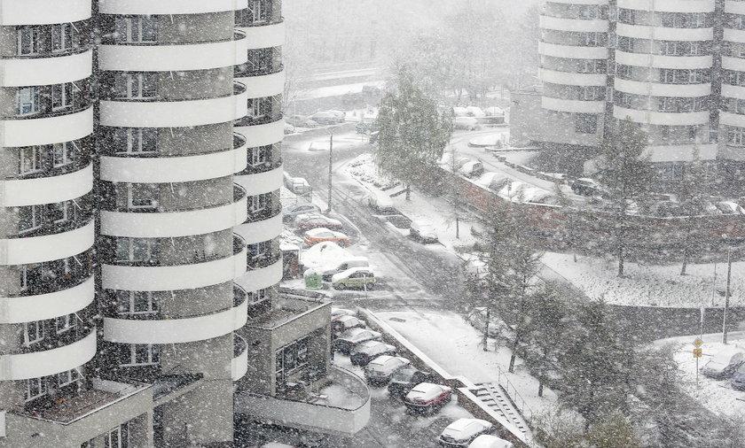 Atak zimy na Śląsku.