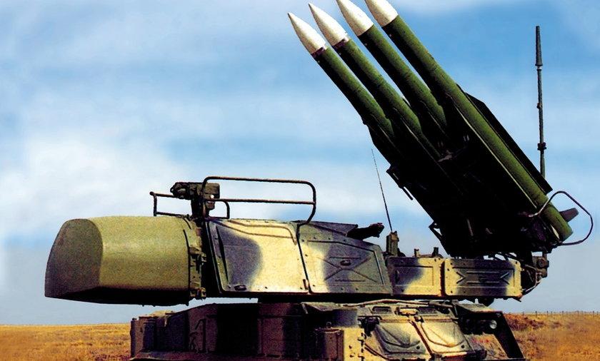 wyrzutnia rakiet buk - m1