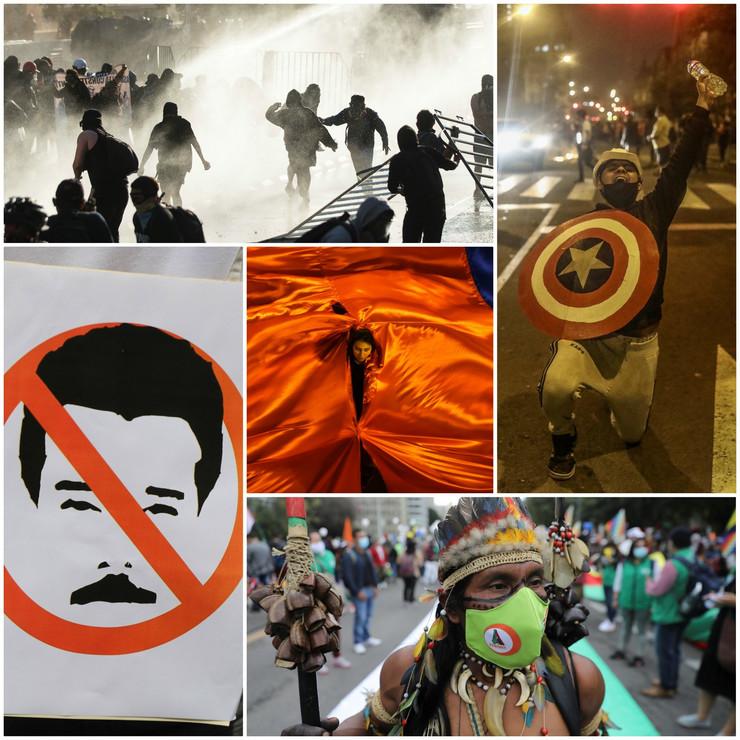 Protesti u Južnoj Americi