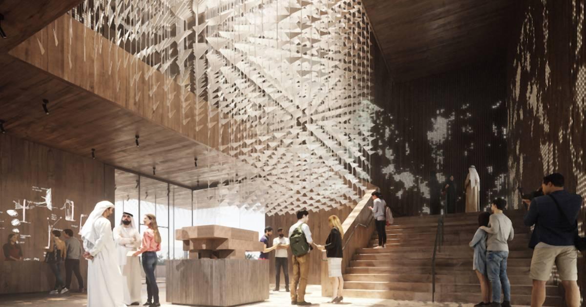 Tak będzie wyglądało wnętrze Pawilonu Polski na EXPO 2020 w Dubaju