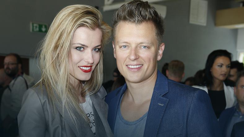 Rafał Brzozowski i Anna Tarnowska