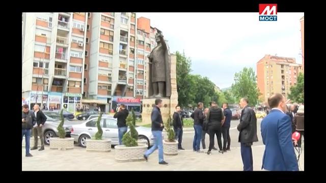 TV Most Kosovska Mitrovica sirene i okupljanje Srba