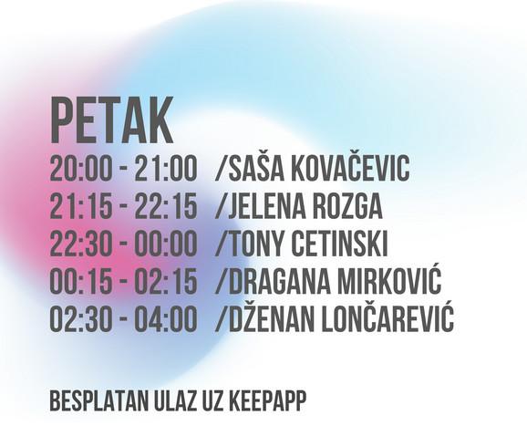 Petak music week