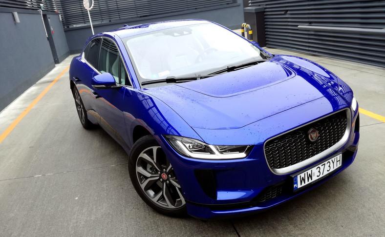 Jaguar I-Pace - elektryczny samochód odporny na złodziejskie sztuczki