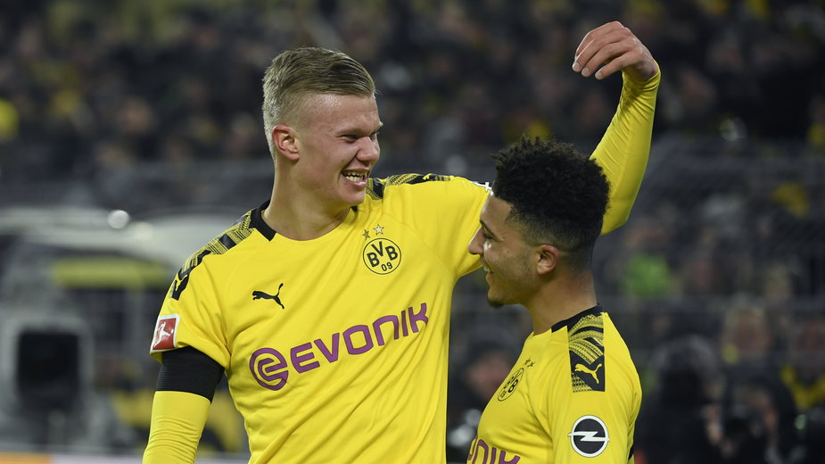 Erling Haaland i Jadon Sancho (Borussia Dortmund)