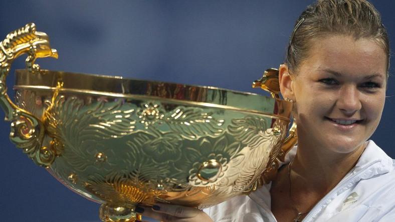 Po wygranej w Pekinie Radwańska awansuje na 8. miejsce i jest blisko turnieju masters
